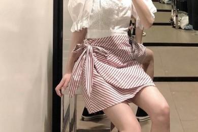芳华感十足的少女穿搭精约清新有生机除了美观还显气质